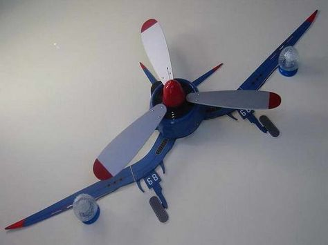 Airplane Ceiling Fan – Latest Accessories for Interior Decorating : Airplane Ceiling Fan With Lights