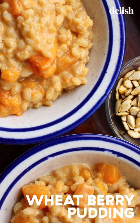 Rice is a grain, and wheat is a grain, so it makes total sense that if you can make rice pudding, you can also make wheat pudding.