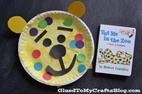 This Paper Plate Leopard craft is not only simple and fun for those of all ages! Pair it with story time in honor of Dr Seuss' birthday!