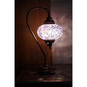 Lampe Turque Mosaique Superbe Lampe De Table Marocain Lampe De Chevet Fait A La Main Multicolore