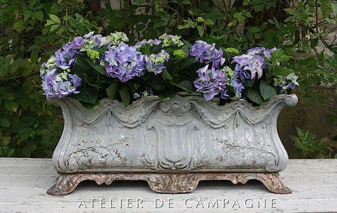 XHZJ Vintage Old Man Portrait Succulent Pot de Fleurs Jardin D/écoration Plante Seeder Fleur Creative D/éesse Statue D/écoration Color : Large Size