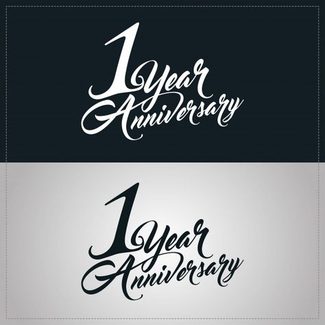 one year anniversary celebration logotype 1st anniversary logo anniversary logo one year anniversary 1st anniversary one year anniversary celebration