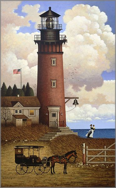 Charles Wysocki - Daddy's Coming Home