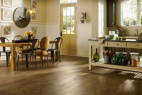 Armstrong PRYZM Artisan Floorboard Light Brown Hybrid Floor w/ Rigid Core 6mm x 6 x 48