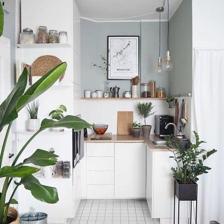 17 Stunning Small Kitchen Design Ideas | Small modern kitchens ...