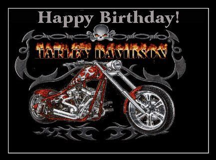 Happy Birthday Motorcycle Harley Davidson Pictures Harley