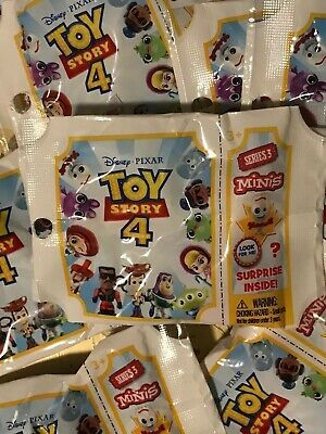 Disney Toy Story 4 SEALED *MINIS BLIND BAG* Figure *COMPLETE SET* OR *ONE EACH*