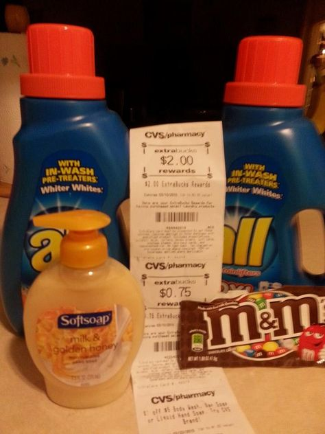 Cvs Free Laundry Detergent Soap And Candy With Images