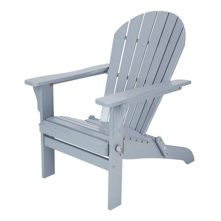 Mainstays St Barrows Folding Wood Adirondack Outdoor Chair Multiple Colors Walmart Com Outdoor Chairs Wood Adirondack Chairs Adirondack Chair