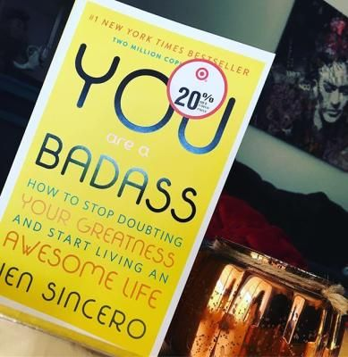 You Are A Badass How To Stop Doubting Your Greatness And Start Living An Awesome Life Paperback By Jen Sincero Books For Self Improvement Self Help Book Greatful