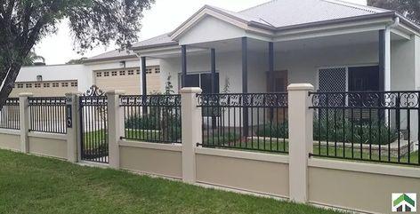 Concrete Compound Wall Design 54 Popular Ideas In 2020 House Fence Design House Gate Design House Outside Design
