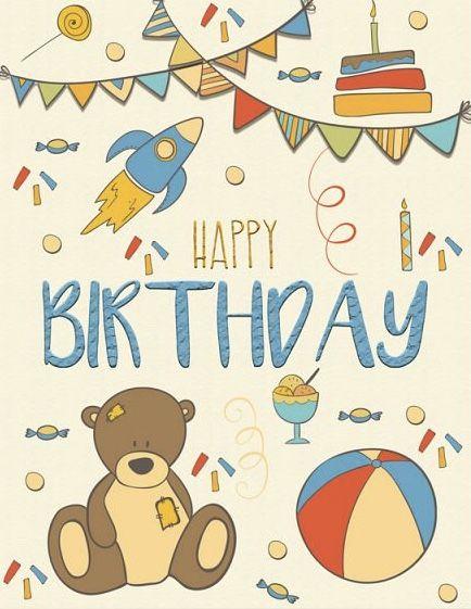 Happy Birthday Happy Birthday Kids Happy Birthday Cards