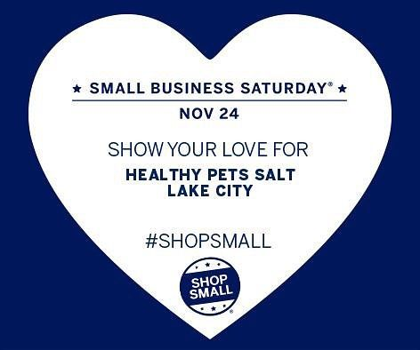 This Saturday Is Smallbusinesssaturday At Healthy Pets Salt Lake City Shopsmall And Receive 20 Off Sele In 2020 Small Business Saturday Small Business West Seattle