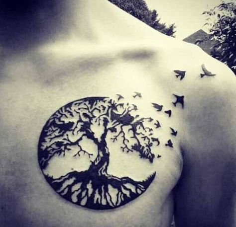 Tree of life: everything is connected. roots to remind you where you come from, and branches to remind you of what you can become: