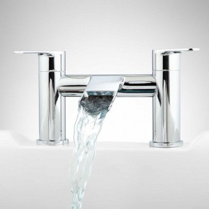 Chrome Tub Faucet Waterfall Tub Faucet Bathroom Faucets Waterfall