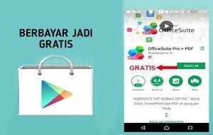 Cara Download Aplikasi Berbayar Jadi Gratis Di Google Playstore Blogodroid Teknologi Aplikasi