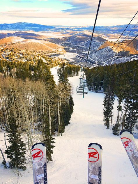 Winter Vacation: Skiing and Snowmobiling at Deer Valley Resort in Park City, Utah