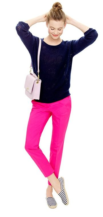 love the pink pants