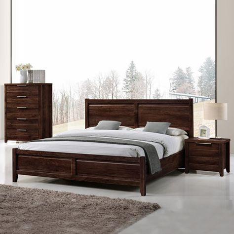 Melbournians Furniture Bedroom Suite Bed Frame Queen Bed Frame