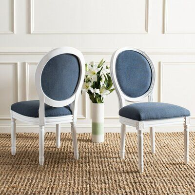 Side Chairs Upholstered Dining, King Louis Dining Room Chairs