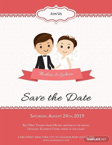 Unique Wedding Invitation Card Template Free Pdf Word Doc Psd Publisher Outlook Unique Wedding Invitations Cartoon Wedding Invitations Wedding Invitation Cards