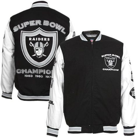NFL Oakland Raiders Men's Post Game Pleather Jacket by G-III Sports. $79.99