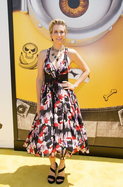 Actress Kristen Wiig attends the premiere of 'Despicable Me 3.'
