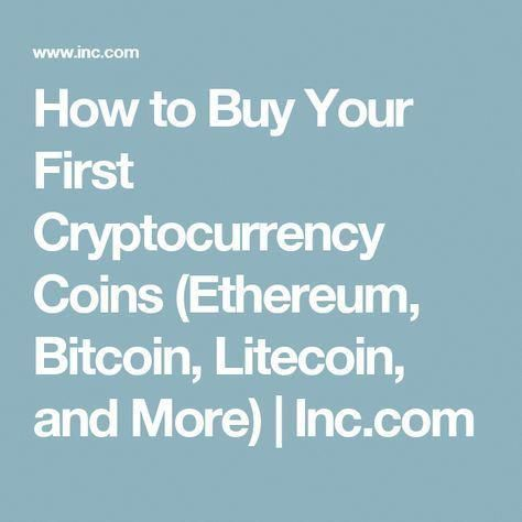 what cryptocurrency should i buy first