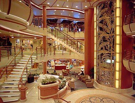 Star Princess atrium....We took our family to Mexico on this ship....beautiful!