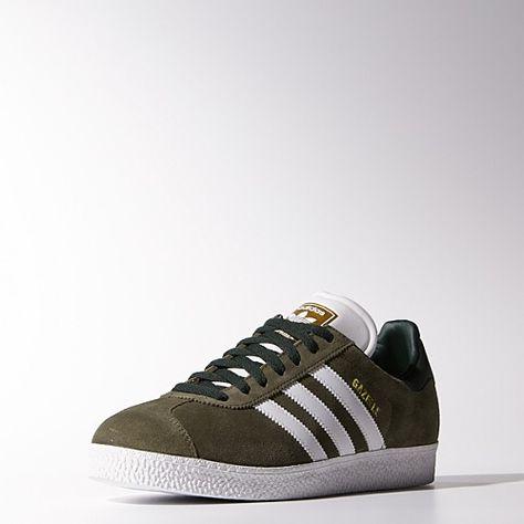 bb5477_amorshoes-adidas-originals-gazelle-verde-green-bb5477   Adidas  Gazelle   Pinterest   Adidas, Adidas gazelle and Adidas ZX