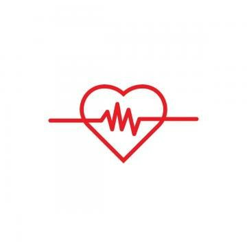 Heart Pulse Logo Icon Template Vector Free Logo Design Template Heart Heart Icons Logo Icons Png And Vector With Transparent Background For Free Download Logo Design Free Templates Hospital Logo Medical