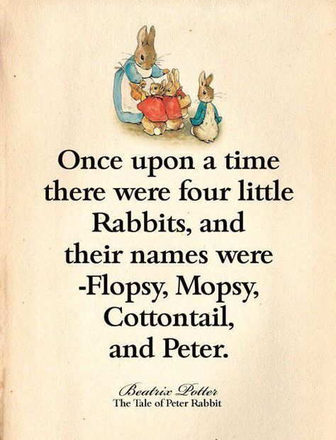 Primitive Vintage Peter Rabbit Bunny Book Print 8x10 Nursery Birthday Prop