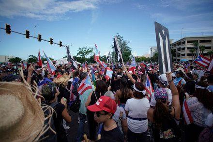 Puerto Rico Protests Live Updates Puerto Rico Puerto Culture Shock