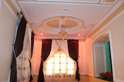 ديكورات دهانات صباغة وديكورات جبس 2019 صور فيديو Decor Ceiling Lights Ceiling