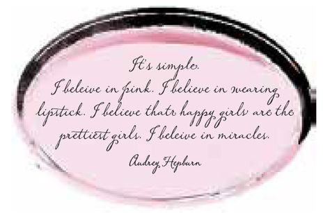 A quote from Audrey Hepburn