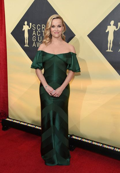 Actor Reese Witherspoon attends the 24th Annual Screen Actors Guild Awards.
