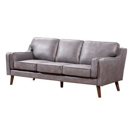 Us Pride Furniture San Francisco Modern Luxurious Faux Leather