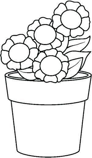 Pagina Para Colorear De Maceta Para Ideas Para S Para Dibujo Para Pintar Macetas Dibujos De Macetas Paginas Para Colorear De Flores Dibujos Para Pintar