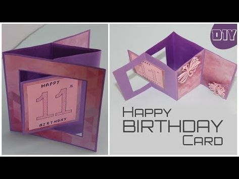 New Photographs Creative Birthday Card Tips Shopping For Your Family And Friends Amusing Clever Or In 2021 Origami Birthday Card Birthday Card Pop Up Birthday Cards
