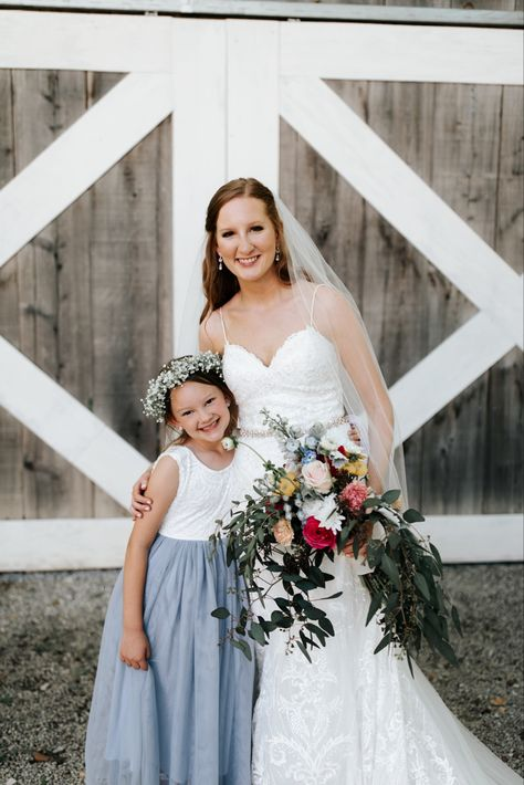 #wedding #bridesmaids #summerweddingdress #summerweddings #shadesofblue #bridesmaidsdresses #kennedyblue #azazie #laceweddingdress #weddingbouquet #bride #bridalbouquets #flowers #flowergirldress #flowergirl