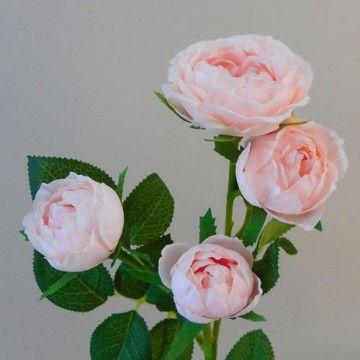 Artificial Roses Spray Blush Pink R948 R2 Artificial Flower Arrangements Violet Plant Silk Flowers
