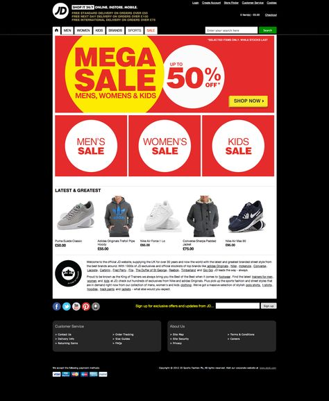 JD Sports launches mega sale with some