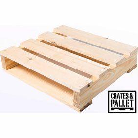 Crates And Pallet Half Pallet New Wood Walmart Com Crates Wood Crates Wood