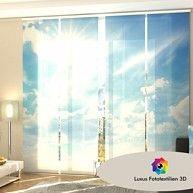 11 Badezimmer Ideen Schiebevorhang Flachenvorhang Schiebegardine