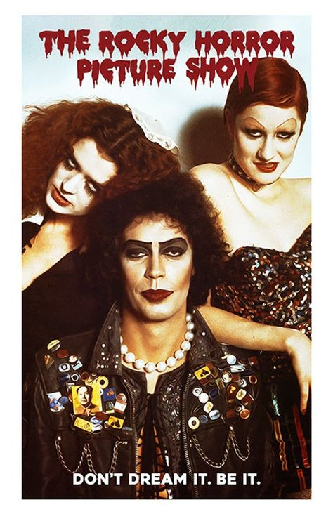 Rocky Horror Movie Poster - Movie Print - 70's Movie, Cult Classic - Dr. Frank-N-Furter