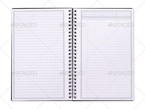 Blank Spiral Notebook binder, blank, book, diary, document - blank line paper