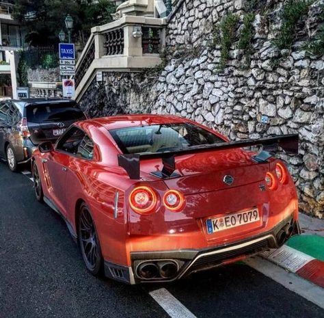 lifestyle Nissan GT-R Nismo Orange /...