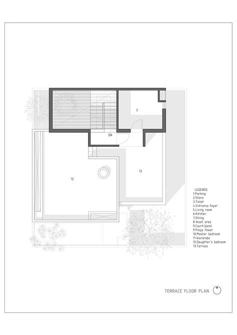Gallery Of The H Cube House Studio Lagom 23 House Layout Plans Home Studio Floor Plans