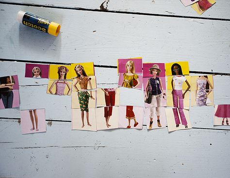 Make your own dress up dolls