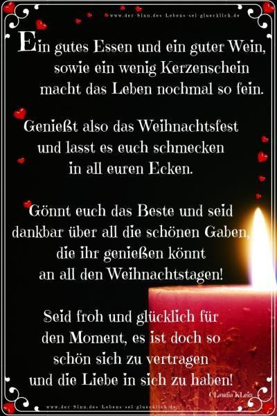 Der Sinn Des Lebens Sei Gluecklich De Merken Weihnachtsfest Weihnachten Spruch Weihnachtswunsche